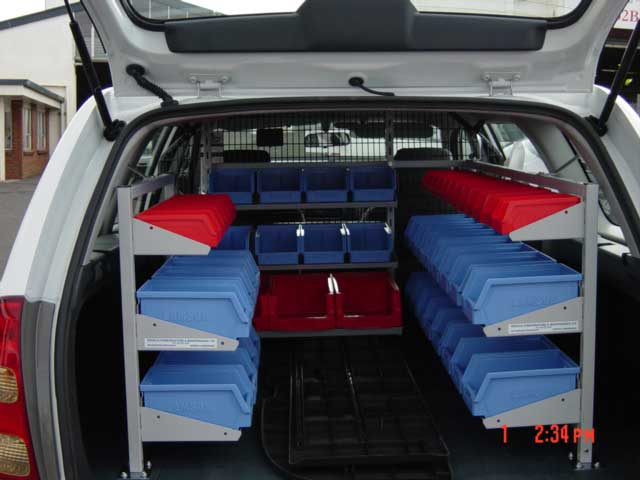 COROLLA WAGON 6 - Tradesperson fit out