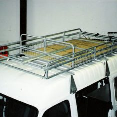DOWNERS TWO TIER BASKET 235x235 - Gutter Mounted Basket Style Roof Rack