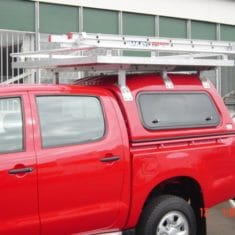 Ute basket roof rackladder 1 235x235 - Platform Mounted Roof Rack