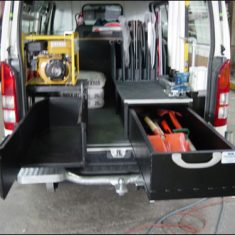 fulton hogan hiace zl 235x235 - Custom Fit Out