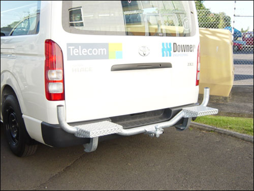 hiace new model towbar bullbar step - Rear Bullbar Towbar Step