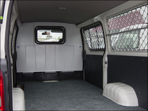 hiace security mesh 3 - Security Style Fit Out