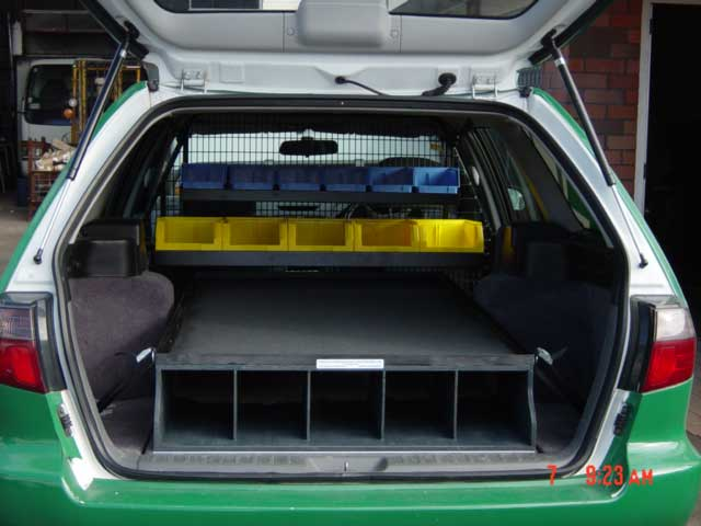 stationwagon electrical - Electrician fit out