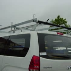 Hyundai iLoad 3 bar roof rack with rollers 1 235x235 - Hyundai iLoad Roof Rack