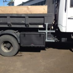 Truck toolbox side access step 235x235 - Toolbox & step