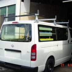 Van VCM roof rack rollers 235x235 - 3 Bar Roof Rack with Rollers